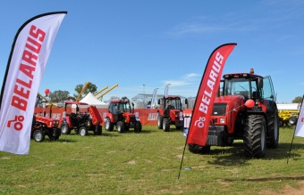 "Arrival of ""Belarus-3522.5"" to the ""Dowerin Field Days"" created a furor"