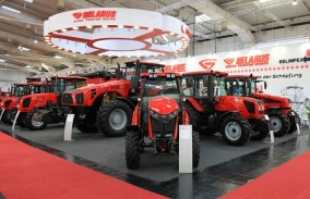 BELARUSIAN TRACTORS AROUSE GREAT INTEREST AT AGRITECHNICA-2017 IN HANNOVER