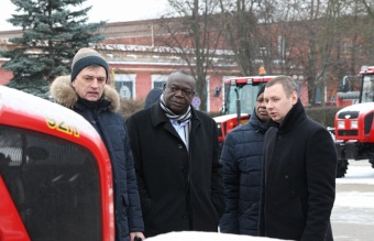 Zimbabwe is interested in cooperation with Minsk Tractor Works